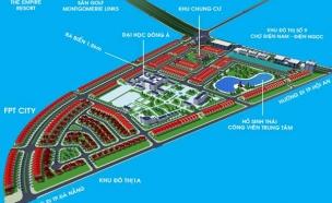 Đất nền Khu đô thị đại học đông á - Đất ven biển Đà nẵng chỉ 2,16 triệu/m2